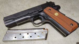 MGC Model CAP gun Colt 1911 Commander